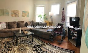 Mission Hill Apartment for rent 5 Bedrooms 2 Baths Boston - $5,500